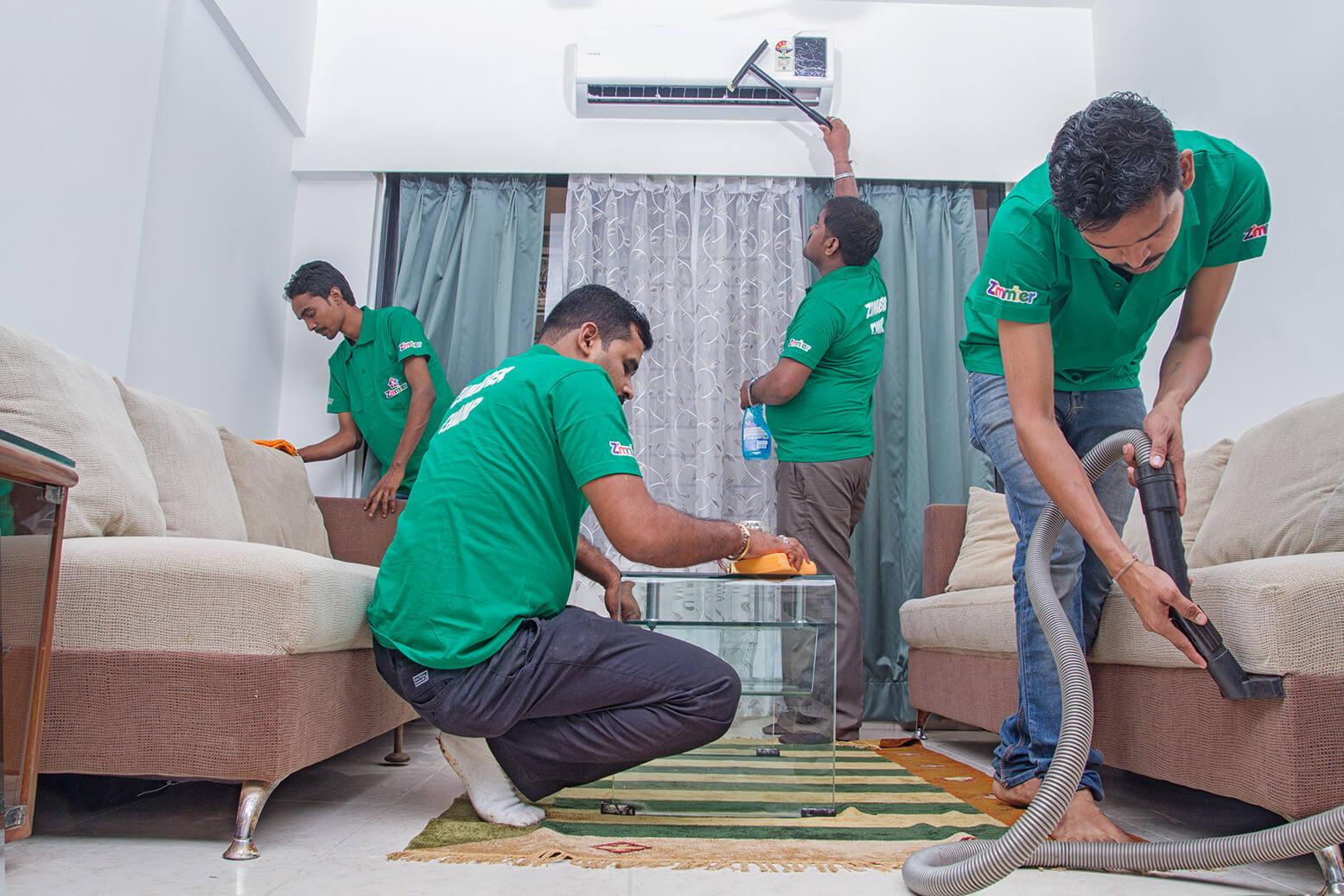 تنظيف المنزل دون عناء