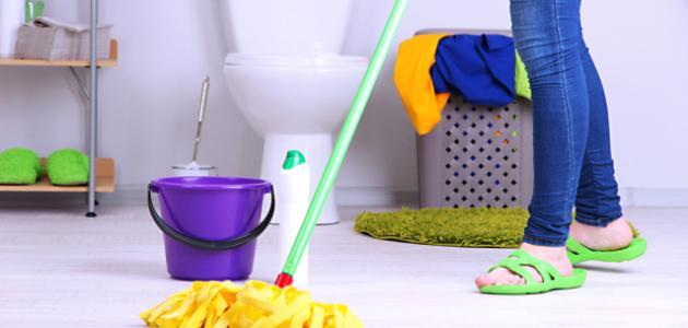 تنظيف المنزل من الجراثيم